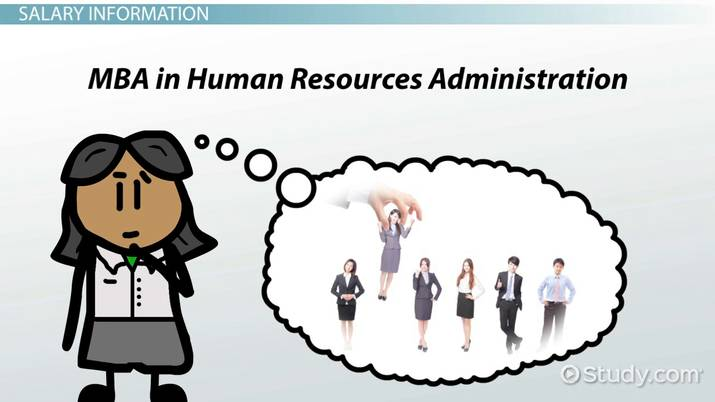 Salaries for Grads with an MBA in Human Resources Administration
