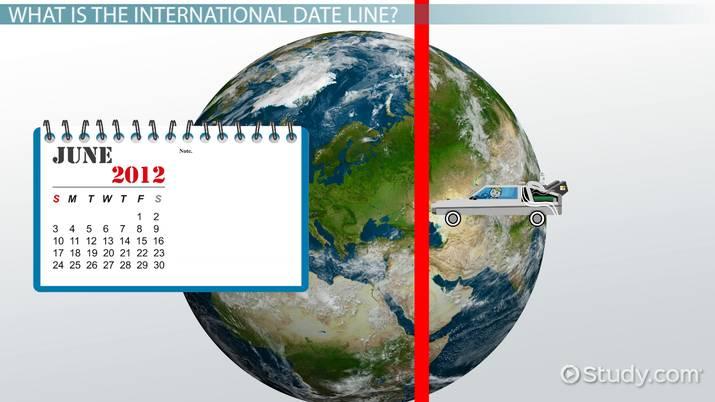 International Date Line: Definition, History & Location