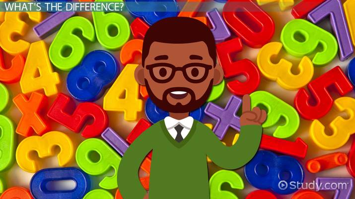 What Does Difference in Math Mean? - Video & Lesson