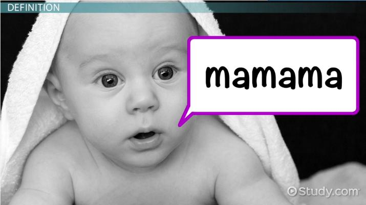 Babbling Stage in Babies: Definition & Explanation - Video & Lesson