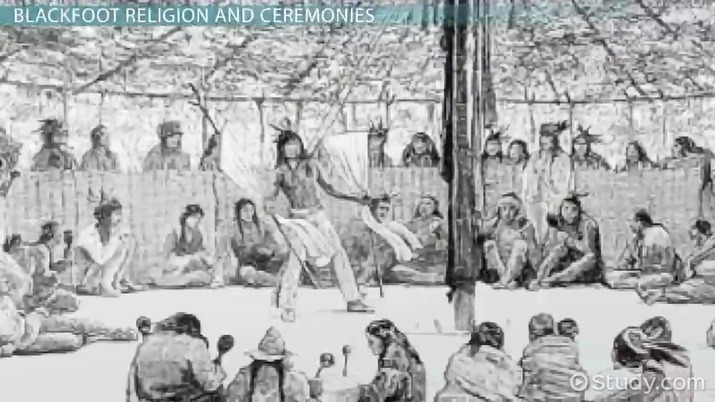 Blackfoot Tribe History Facts Beliefs Video Lesson