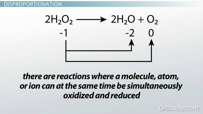 Disproportionation: Definition & Examples - Video & Lesson