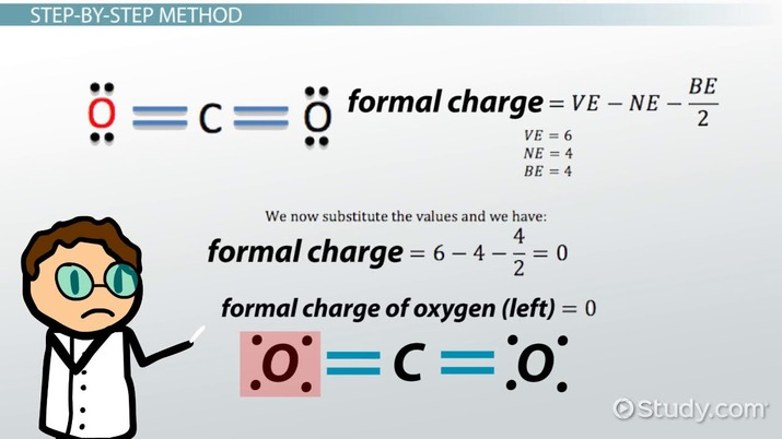 Calculating Formal Charge Definition Formula Video