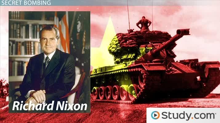 nixons announcement cambodia