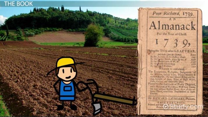 Benjamin Franklin S Poor Richard Almanack Summary Sayings Video Lesson Transcript Study