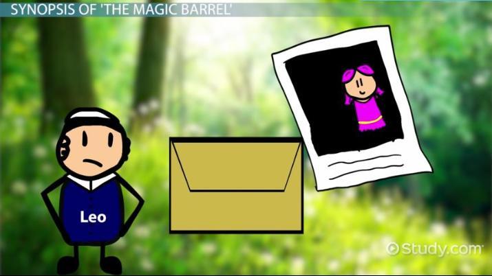the magic barrel story