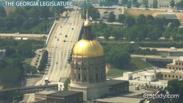 Structure Power Of The Georgia Legislature Video