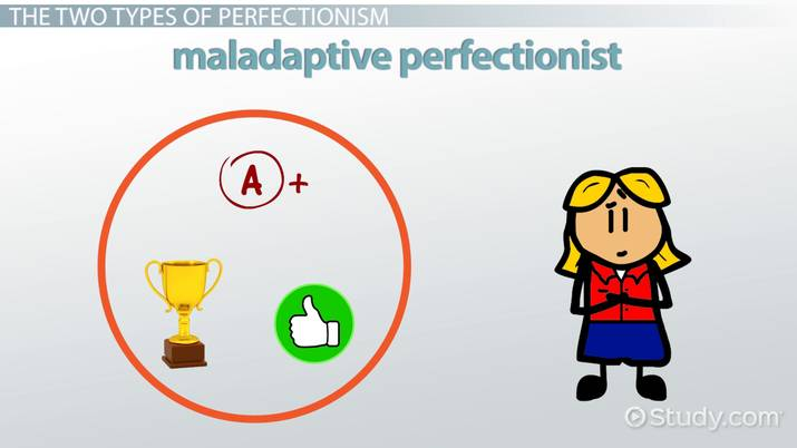 Perfectionism In Students Case Study In >> Maladaptive Perfectionism Definition Causes Video Lesson