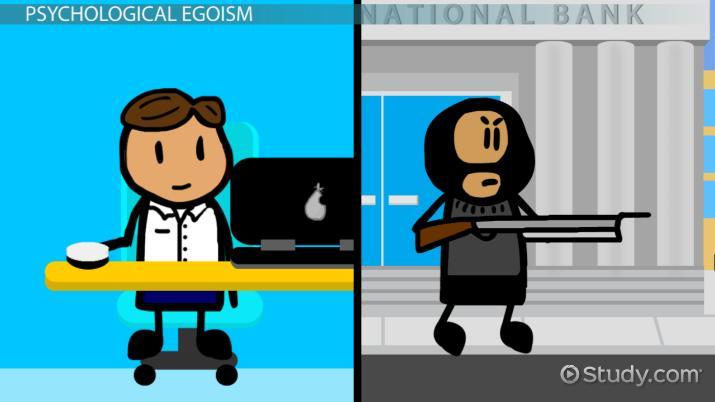 Psychological egoism essay