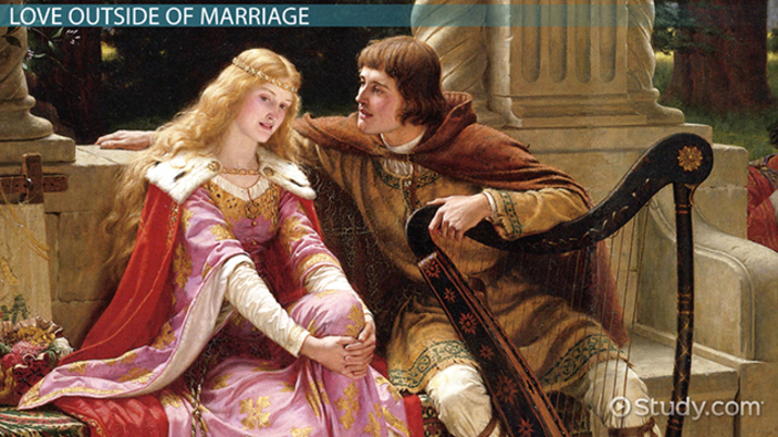 Define courtly