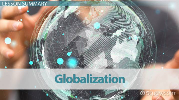 what was one positive effect of economic globalization