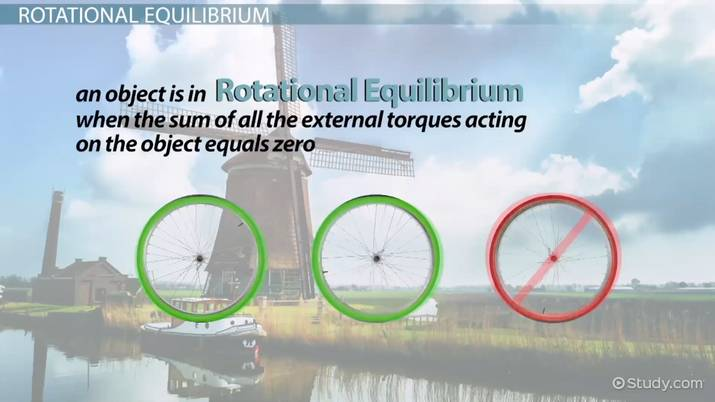 Equilibrium: Translational & Rotational - Video & Lesson Transcript