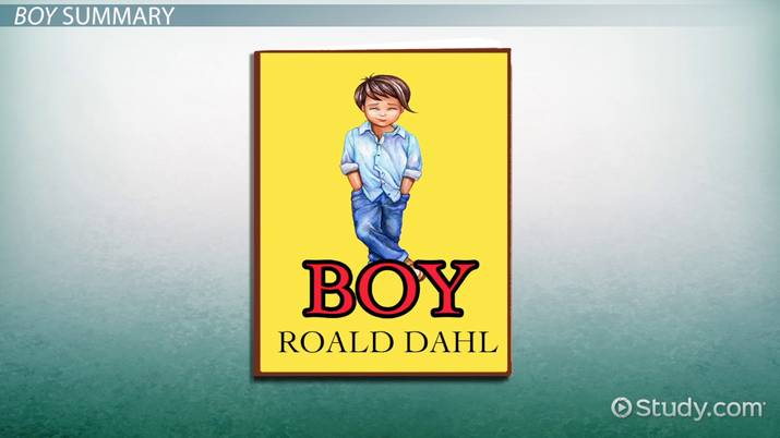 Boy By Roald Dahl Summary Quotes Video Lesson