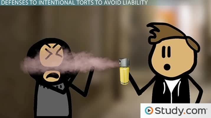 Defenses to Intentional Torts to Avoid Liability - Video