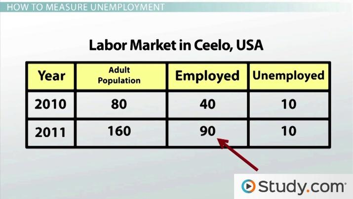 Defining And Measuring The Unemployment Rate Video