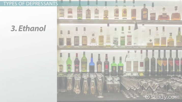 Depressants: Types, Examples & Facts - Video & Lesson
