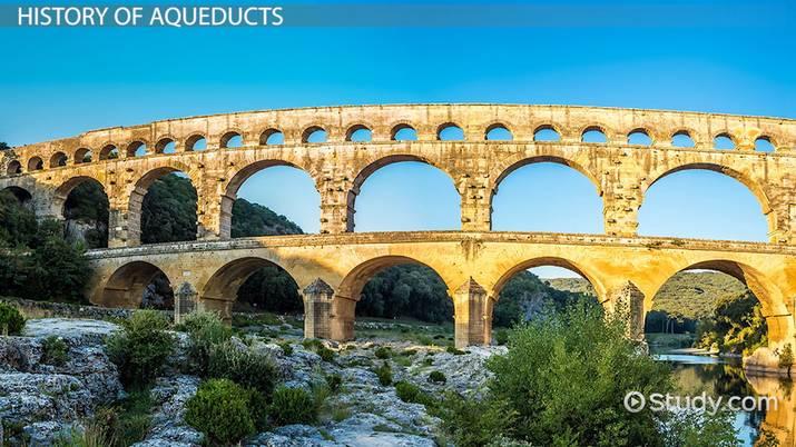 The Roman Aqueduct Definition Facts Video Lesson