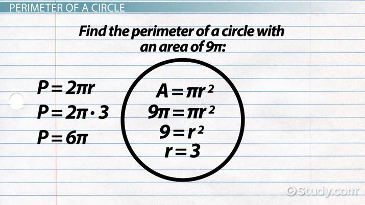 How to Find Perimeter from Area - Video & Lesson Transcript