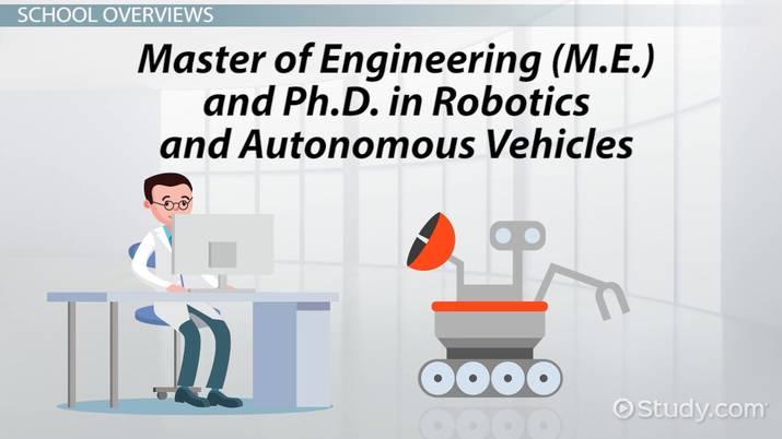 Top Robotics Graduate Programs: List of Schools