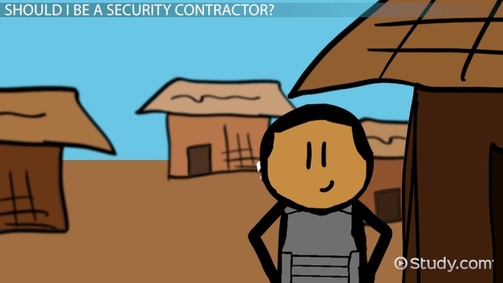 How to Become a Security Contractor: Education and Career Info