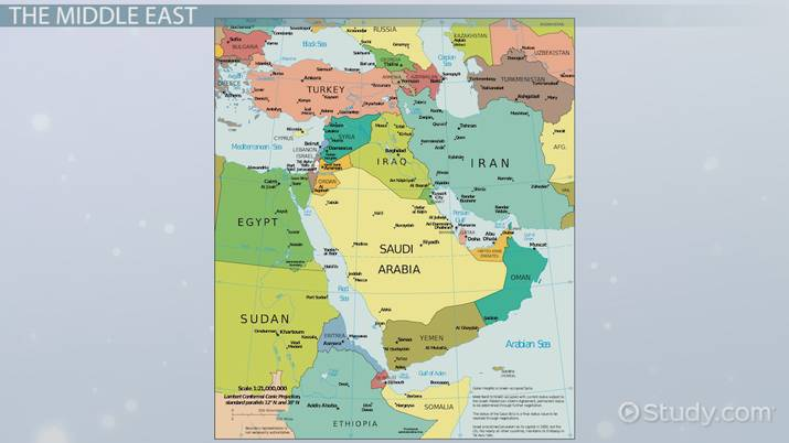 Middle East Countries Capitals Video Lesson Transcript Study Com