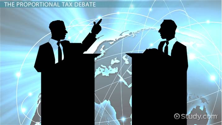 advantages and disadvantages of proportional tax