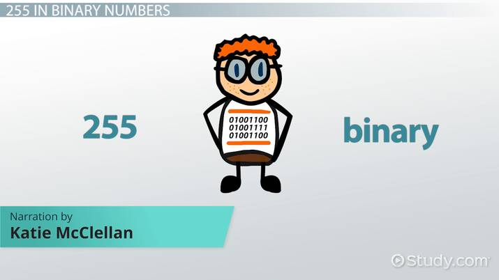 What is 255 in Binary? - How-to & Steps - Video & Lesson Transcript