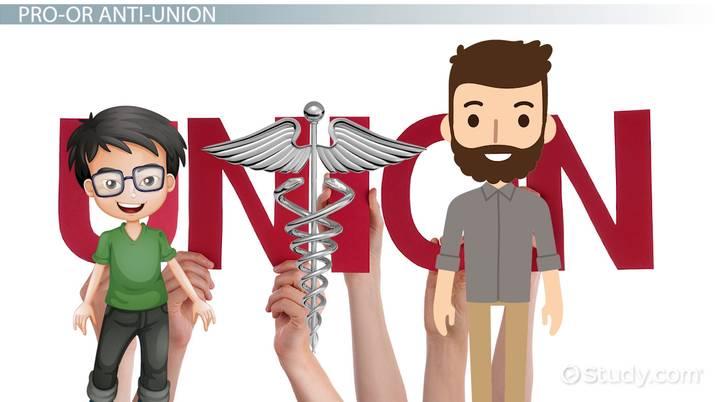 disadvantages of nursing unions
