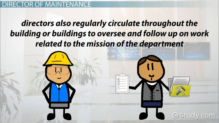 Become A Director Of Maintenance And Environmental Services