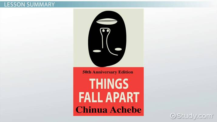 Things Fall Apart: Chapter 1 Summary - Video & Lesson