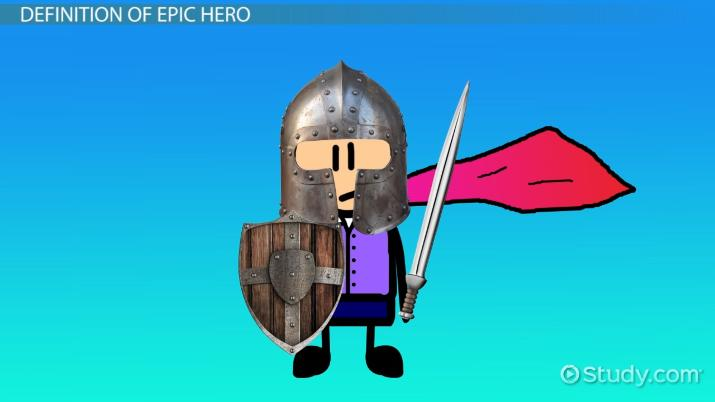the epic hero represents an
