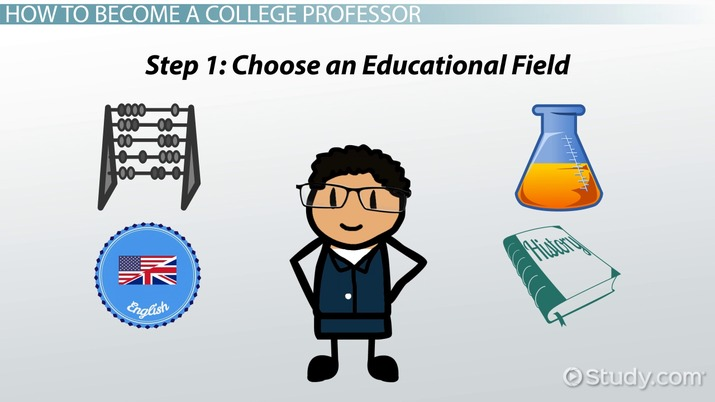 how to become a college professor education and career roadmap