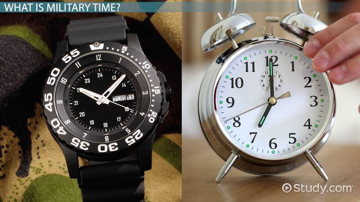 What is Military Time? - Definition & Format