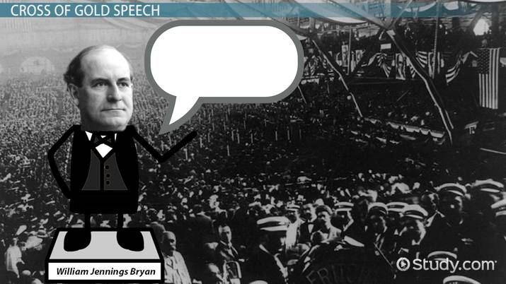 Cross of Gold Speech by William Jennings Bryan