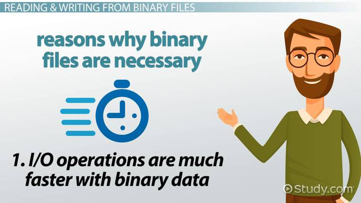 Writing & Reading Binary Files in C Programming - Video