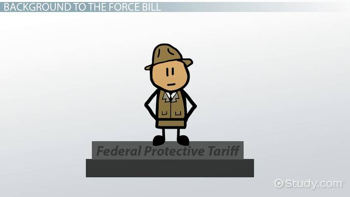 The Force Bill: Definition, History & Effects - Video