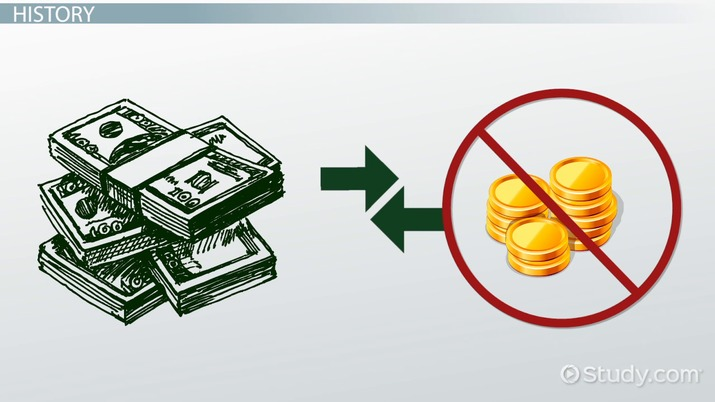 fiat money: definition, history & examples - video & lesson