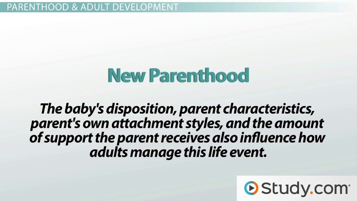 The Family Cycle & Adult Development: Marriage, Parenthood & the Empty Nest