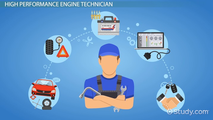 Become a High Performance Engine Technician