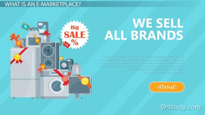 What Are E-Procurement & E-Marketplaces? - Video & Lesson