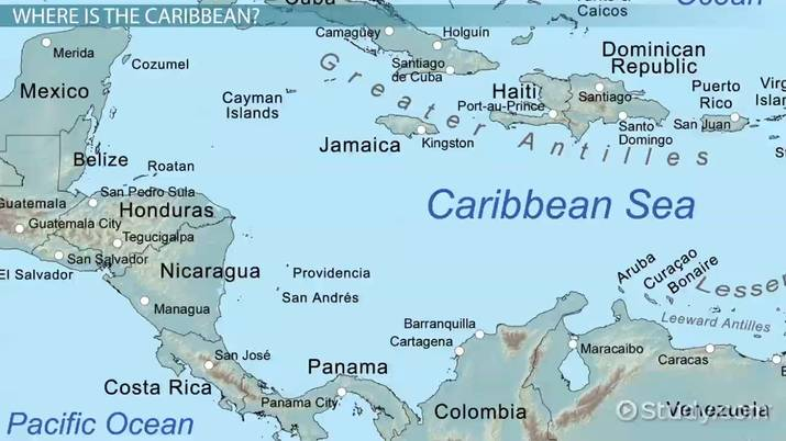 Caribbean Countries & Capitals - Video & Lesson Transcript | Study.com