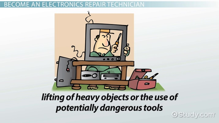 be an electronics repair technician training and career