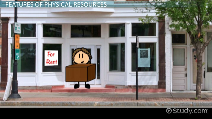 What are Physical Resources in Business? - Video & Lesson