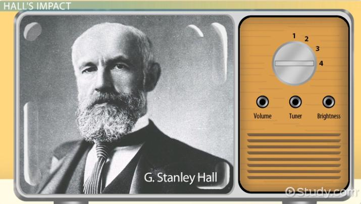 stanley hall theory