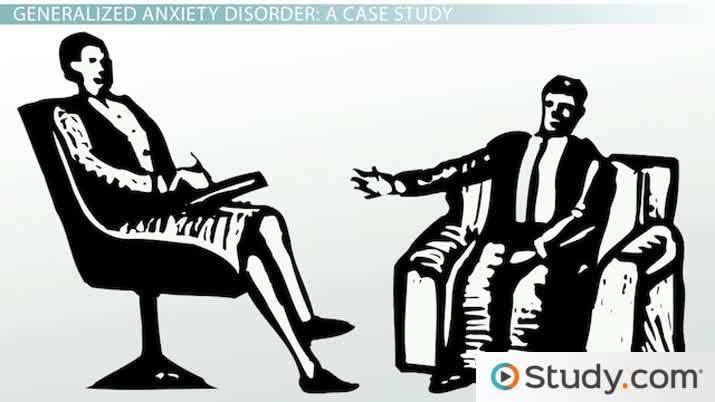 generalized anxiety disorder with panic attacks dsm code