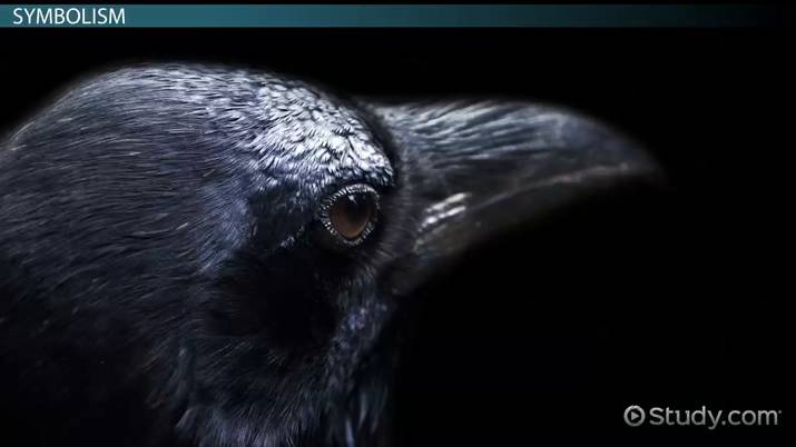 words that help build the mood of the raven