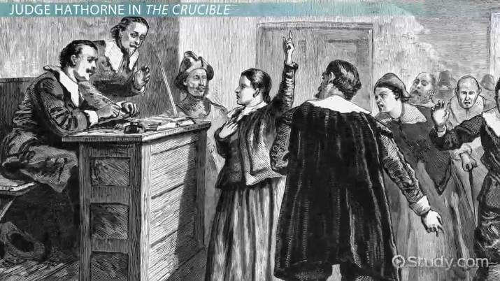 Judge Hathorne In The Crucible Video Lesson Transcript