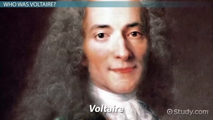 why did voltaire write candide