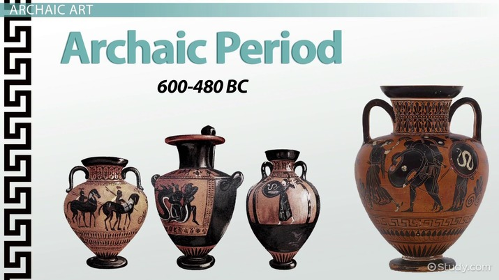 Greek Art Of The Geometric Archaic Periods Video Lesson