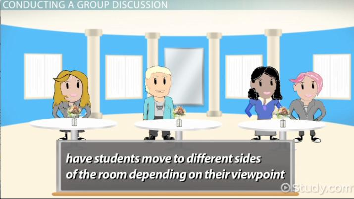 Group Discussion: Questions, Topics and Activities - Video & Lesson